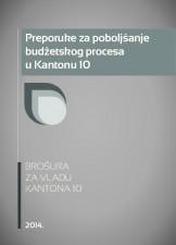 Preporuke za poboljšanje budžetskog procesa u Kantonu 10