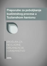Preporuke za poboljšanje budžetskog procesa u Tuzlanskom kantonu